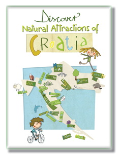 DISCOVER NATURAL ATTRACTIONS OF CROATIA - card