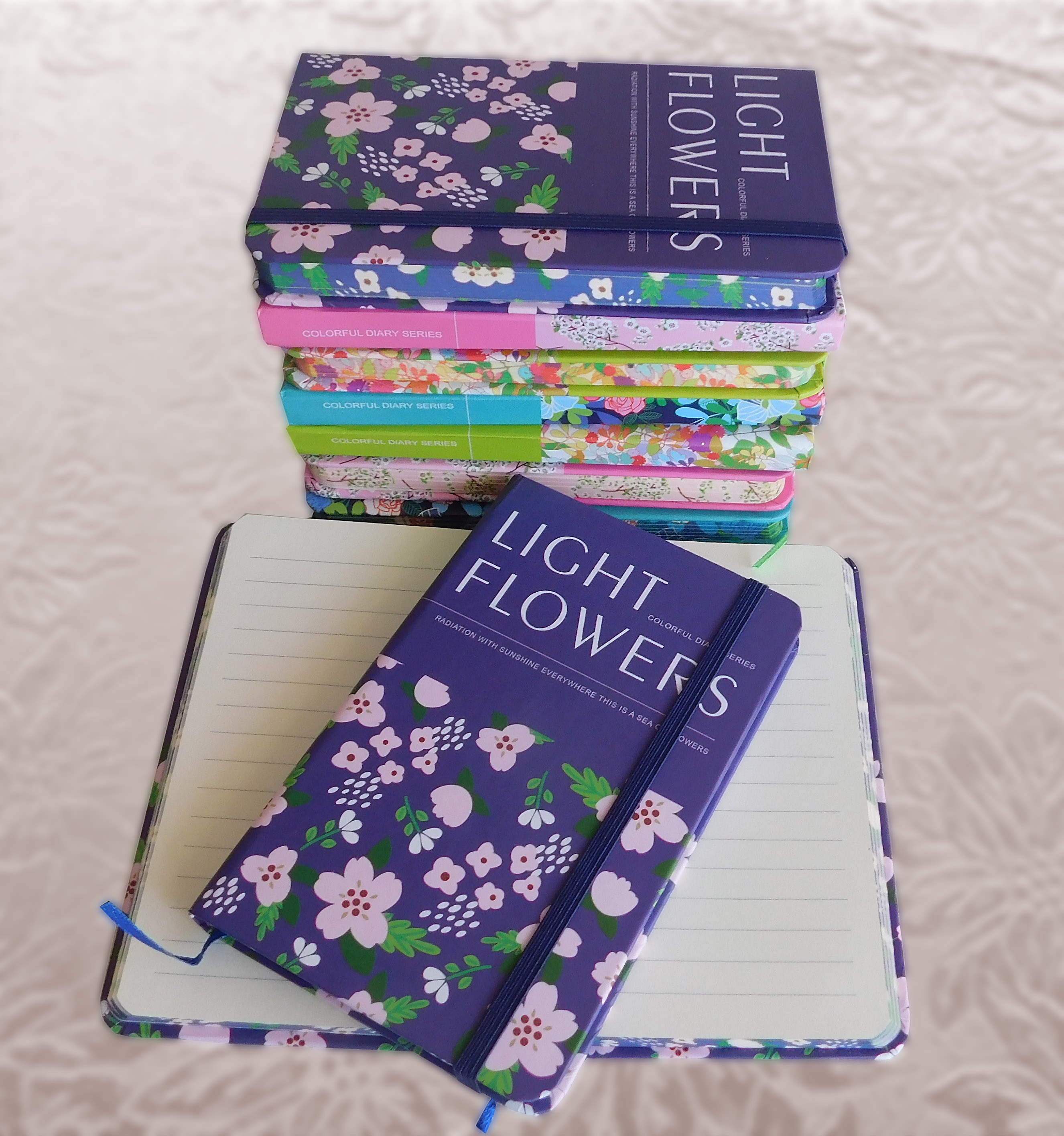 Notes Light Flowers – razne boje